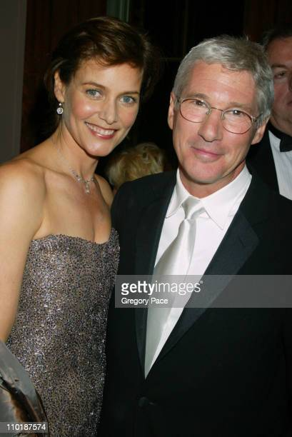 Carey Lowell and Richard Gere during 19th Annual American Museum of the Moving Image Benefit Salute to Richard Gere Arrivals at WaldorfAstoria in New...