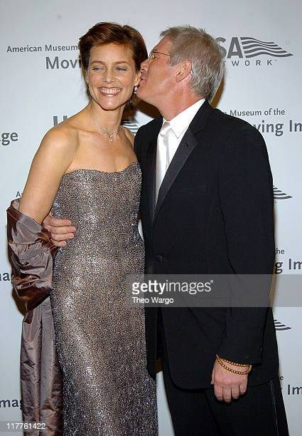 Carey Lowell and Richard Gere during 19th Annual American Museum of the Moving Image Benefit Salute to Richard Gere Arrivals at Waldorf Astoria Hotel...
