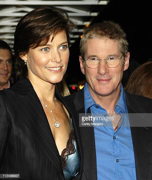 Carey Lowell and Richard Gere during Bee Season New York Premiere at IFC Theater in New York City New York United States