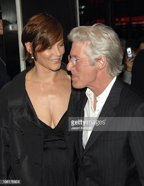 Carey Lowell and Richard Gere during Miramax Films Presents The New York Premiere Of The Hoax April 1 2007 at Cinema 13 in New York City New York...