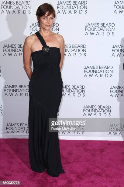 Carey Lowell attends The 2009 JAMES BEARD FOUNDATION AWARDS at Avery Fisher Hall at Lincoln Center on May 4 2009 in New York City