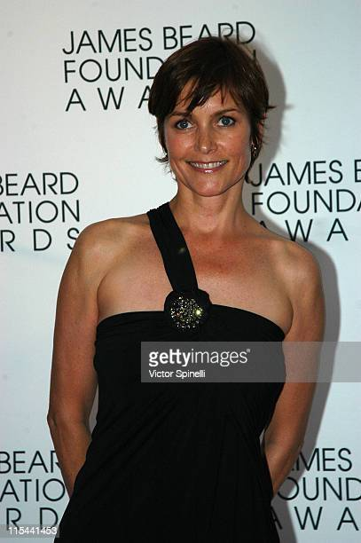 Carey Lowell attends the 2009 James Beard Foundation Awards Ceremony and Gala at Avery Fisher Hall at Lincoln Center for the Performing Arts on May 4...
