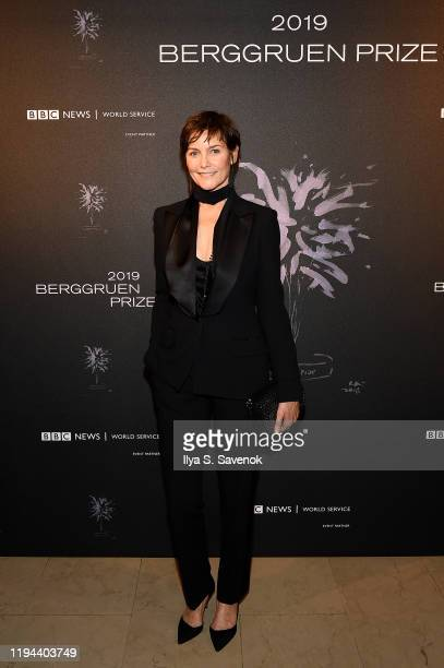 Carey Lowell attends the Fourth Annual Berggruen Prize Gala celebrating 2019 Laureate Supreme Court Justice Ruth Bader Ginsburg in New York City on...
