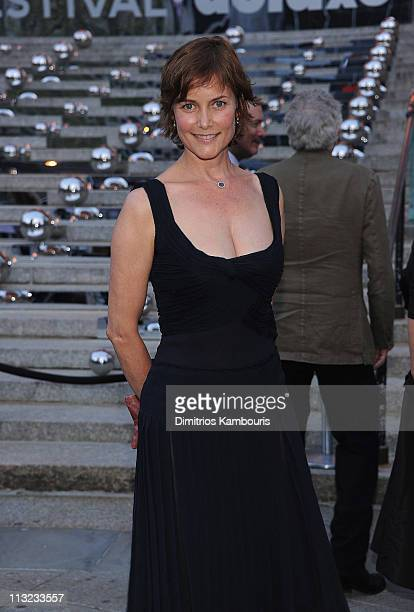 Carey Lowell attends the Vanity Fair party during the 10th annual Tribeca Film Festival at State Supreme Courthouse on April 27 2011 in New York City