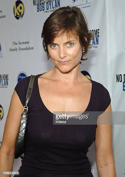Carey Lowell during No Direction Home Bob Dylan New York City Premiere and After Party at Ziegfeld Theater in New York City New York United States