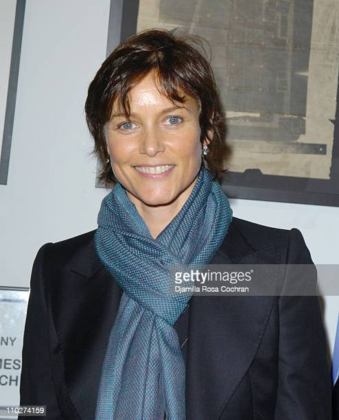 Carey Lowell during The Opening Night of RFK at The Culture Project in New York City New York United States