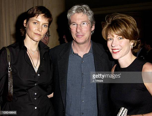Carey Lowell Richard Gere and Roberta Myers Editor In Chief of Elle