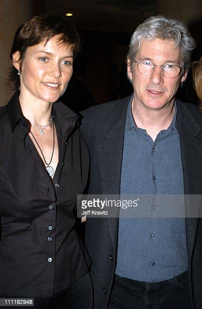 Carey Lowell Richard Gere during Miramax Max Awards at St Regis Hotel in Los Angeles CA United States