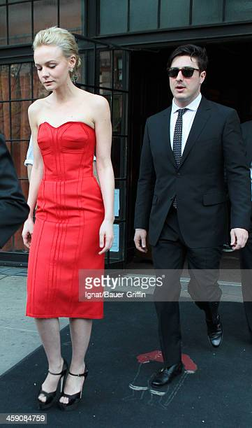 Carey Mulligan and Marcus Mumford are seen on May 01 2013 in Los Angeles California