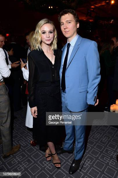 Carey Mulligan and Paul Dano attend 2018 HFPA and InStyle's TIFF Celebration at the Four Seasons Hotel on September 8 2018 in Toronto Canada