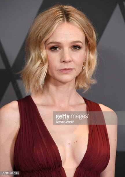 Carey Mulligan arrives at the Academy Of Motion Picture Arts And Sciences' 9th Annual Governors Awards at The Ray Dolby Ballroom at Hollywood...