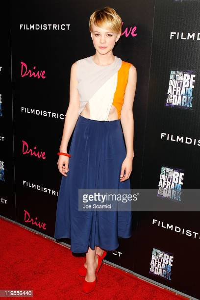 Carey Mulligan arrives at the Film District Party at Bar 207 at The Hard Rock Hotel on July 21 2011 in San Diego California