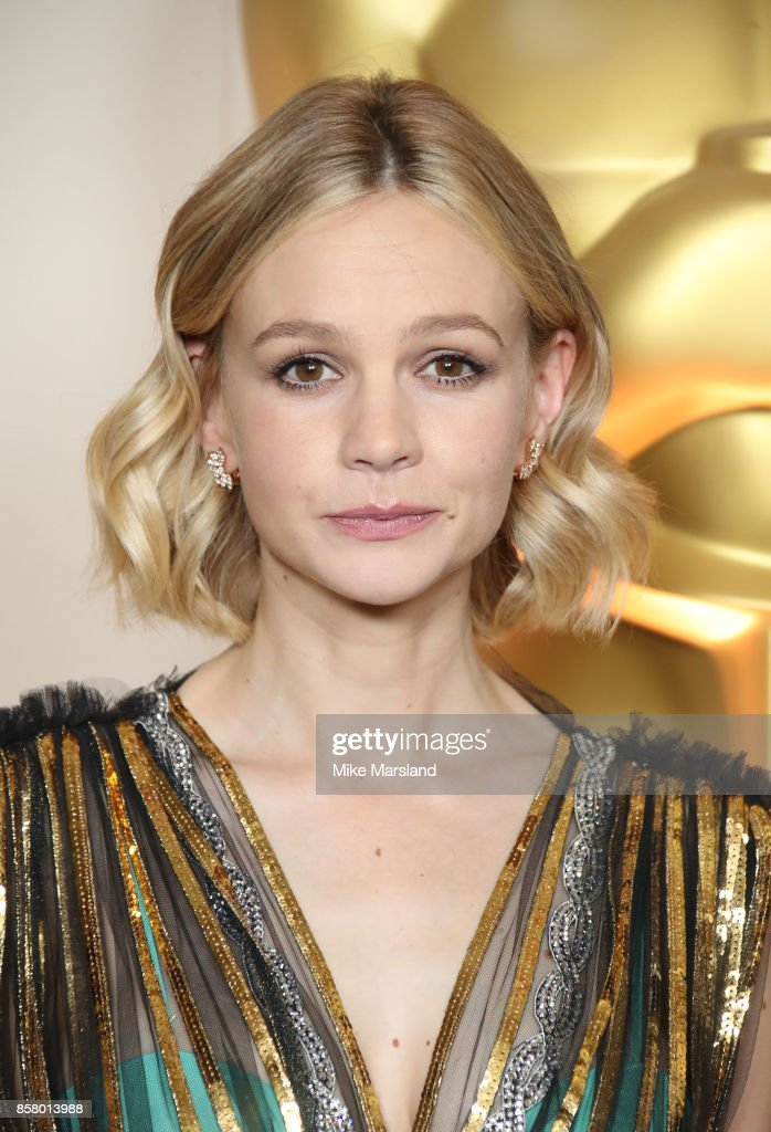 Carey Mulligan at the Academy of Motion Picture Arts and Sciences New Members Partyat Spencer House on October 5, 2017 in London, England.