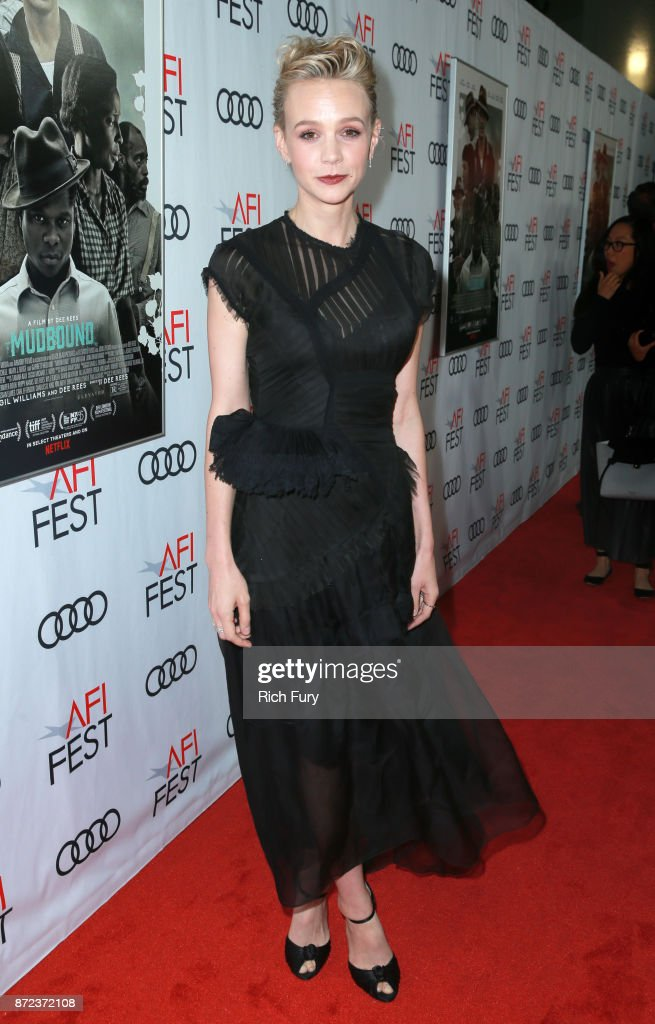 Carey Mulligan at the Opening Night Gala presentation of 'MUDBOUND' on November 9, 2017 in Hollywood, California.