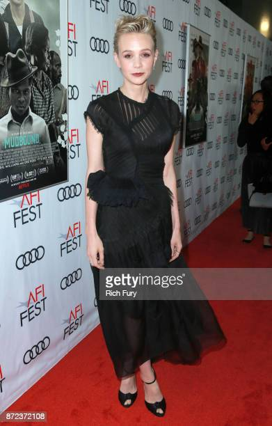 Carey Mulligan at the Opening Night Gala presentation of 'MUDBOUND' on November 9 2017 in Hollywood California