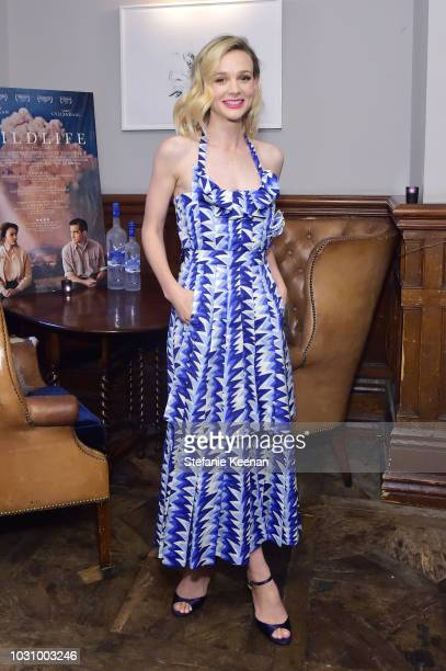 Carey Mulligan at the WILDLIFE premiere party hosted by GREY GOOSE Vodka and Soho House at Soho House Toronto on September 10 2018 in Toronto Canada