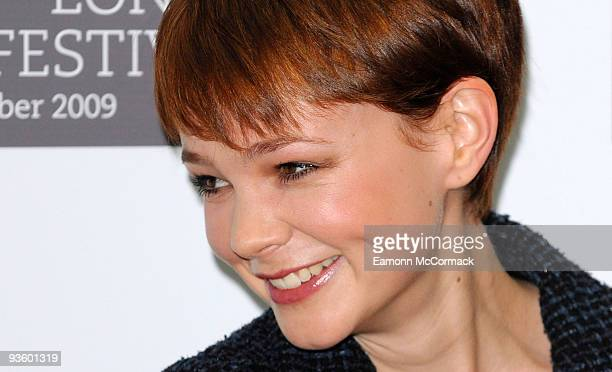 Carey Mulligan attends a photocall for 'An Education' during The Times BFI London Film Festival at Mayfair Hotel on October 20 2009 in London England