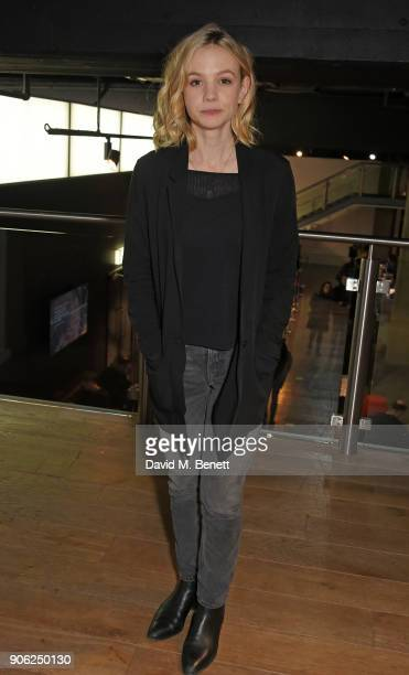 Carey Mulligan attends a special screening and QA for 'Collateral' at BFI Southbank on January 17 2018 in London England