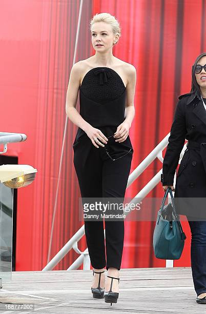 Carey Mulligan attends day 1 of the 66th Annual Cannes Film Festival on May 15 2013 in Cannes France