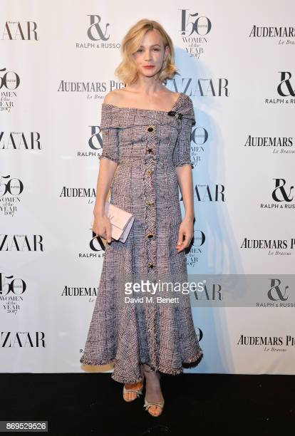 Carey Mulligan attends Harper's Bazaar Women of the Year Awards in association with Ralph Russo Audemars Piguet and MercedesBenz at Claridge's Hotel...