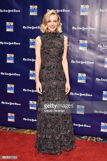 Carey Mulligan attends IFP's 27th Annual Gotham Independent Film Awards at Cipriani Wall Street on November 27 2017 in New York City