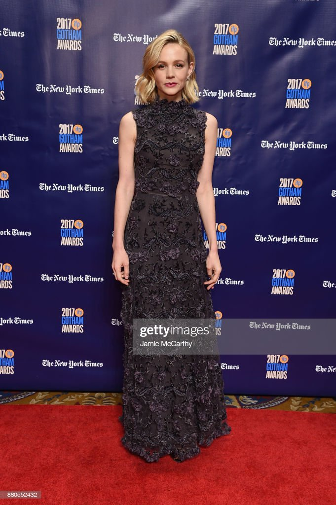 Carey Mulligan attends the 2017 IFP Gotham Awards at Cipriani Wall Street on November 27, 2017 in New York City.