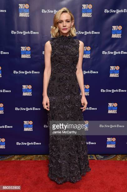 Carey Mulligan attends the 2017 IFP Gotham Awards at Cipriani Wall Street on November 27 2017 in New York City