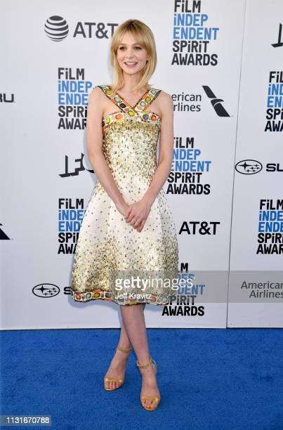 Carey Mulligan attends the 2019 Film Independent Spirit Awards on February 23 2019 in Santa Monica California