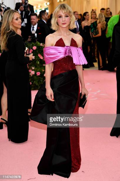 Carey Mulligan attends The 2019 Met Gala Celebrating Camp Notes on Fashion at Metropolitan Museum of Art on May 06 2019 in New York City