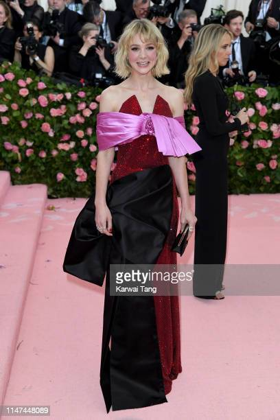 Carey Mulligan attends The 2019 Met Gala Celebrating Camp Notes On Fashion at The Metropolitan Museum of Art on May 06 2019 in New York City