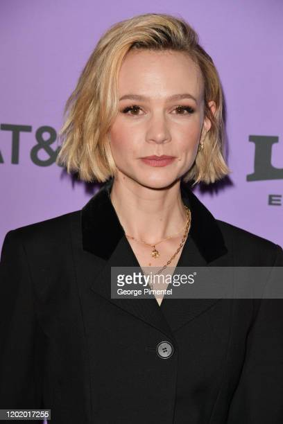 Carey Mulligan attends the 2020 Sundance Film Festival Promising Young Woman Premiere at The Marc Theatre on January 25 2020 in Park City Utah