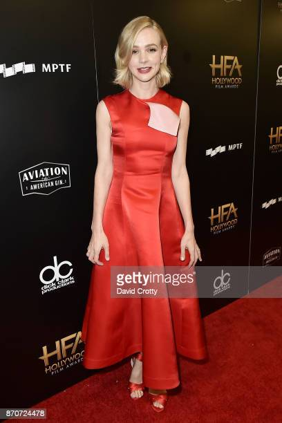 Carey Mulligan attends the 21st Annual Hollywood Film Awards Backstage on November 5 2017 in Beverly Hills California