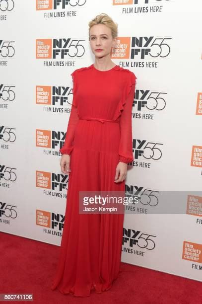 Carey Mulligan attends the 55th New York Film Festival screening of 'Mudbound' at Alice Tully Hall in New York on October 12 2017