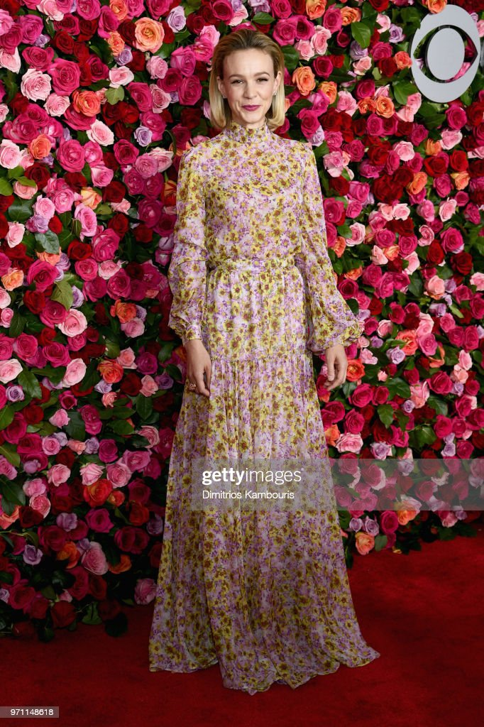 Carey Mulligan attends the 72nd Annual Tony Awards at Radio City Music Hall on June 10, 2018 in New York City.