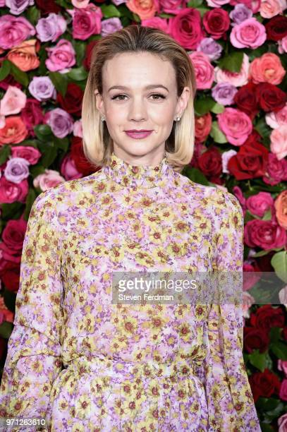 Carey Mulligan attends the 72nd Annual Tony Awards at Radio City Music Hall on June 10 2018 in New York City