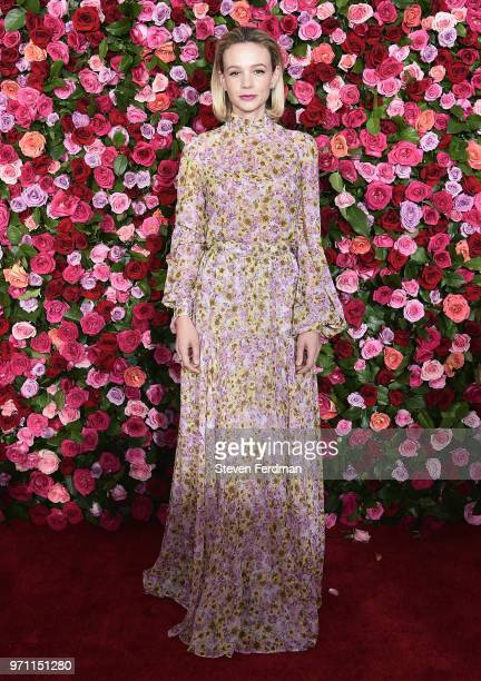 Carey Mulligan attends the 72nd Annual Tony Awards on June 10 2018 in New York City