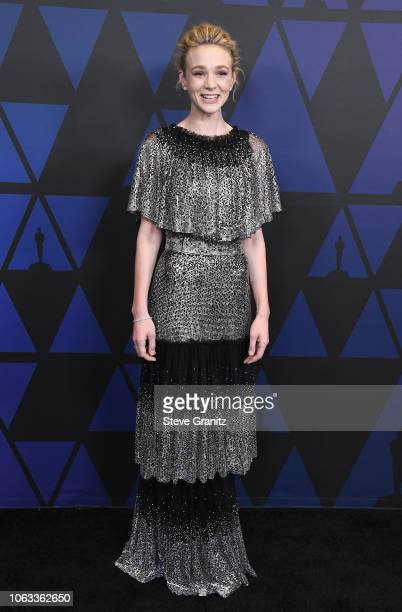 Carey Mulligan attends the Academy of Motion Picture Arts and Sciences' 10th annual Governors Awards at The Ray Dolby Ballroom at Hollywood Highland...