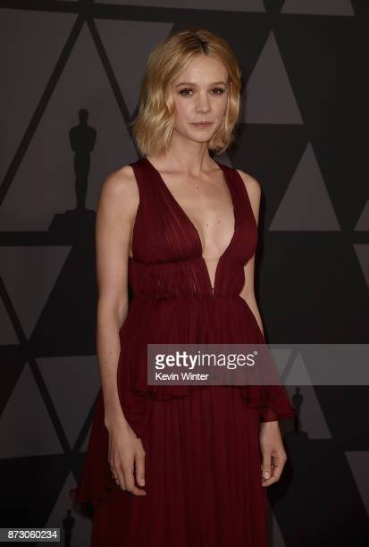 Carey Mulligan attends the Academy of Motion Picture Arts and Sciences' 9th Annual Governors Awards at The Ray Dolby Ballroom at Hollywood Highland...