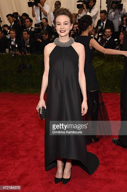 Carey Mulligan attends the China Through The Looking Glass Costume Institute Benefit Gala at the Metropolitan Museum of Art on May 4 2015 in New York...