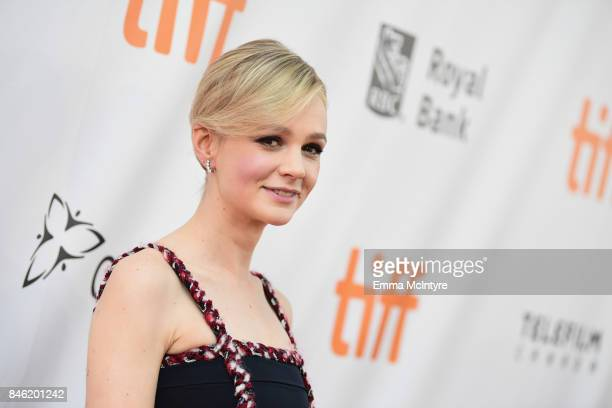 Carey Mulligan attends the Gala Presentation of Mudbound at the 2017 Toronto International Film Festival at Roy Thomson Hall in Toronto Canada on...