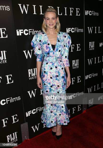 Carey Mulligan attends the Los Angeles Premiere for IFC Films' Wildlife at ArcLight Hollywood on October 9 2018 in Hollywood California