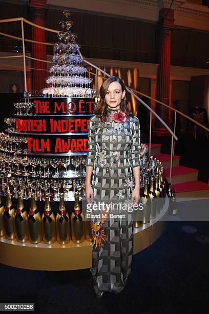 Carey Mulligan attends the Moet British Independent Film Awards 2015 at Old Billingsgate Market on December 6 2015 in London England