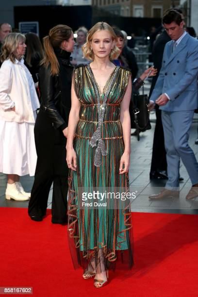 Carey Mulligan attends the 'Mudbound' European Premiere during the 61st BFI London Film Festival at Odeon Leicester Square on October 5 2017 in...