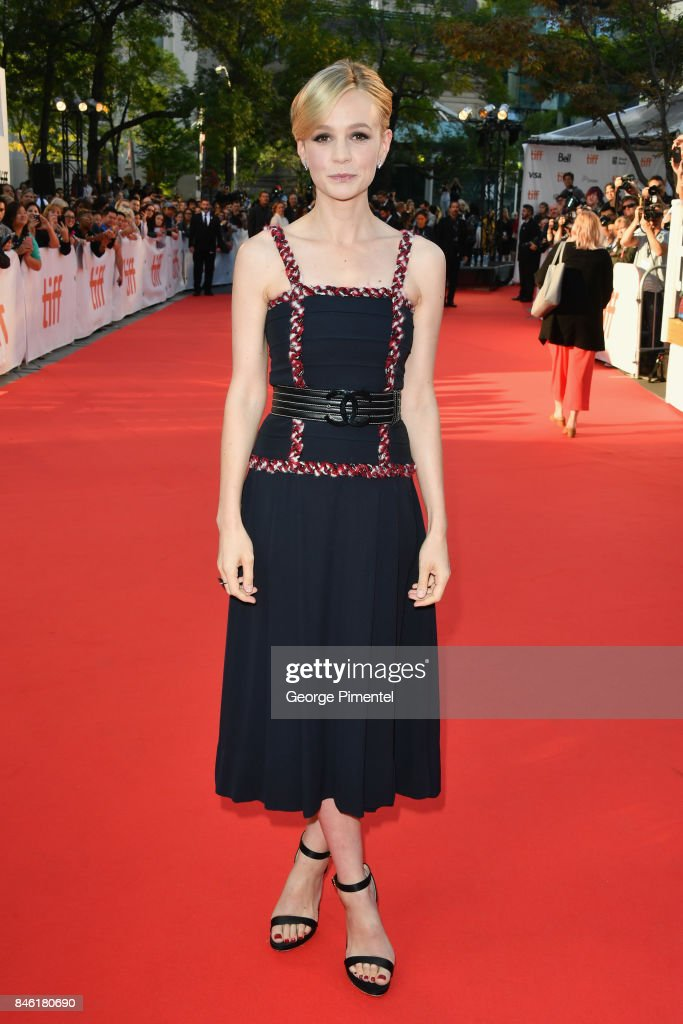 Carey Mulligan attends the 'Mudbound' premiere during the 2017 Toronto International Film Festival at Roy Thomson Hall on September 12, 2017 in Toronto, Canada.