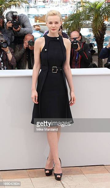 Carey Mulligan attends the photocall for 'Inside Llewyn Davis' at The 66th Annual Cannes Film Festival on May 19 2013 in Cannes France