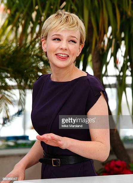 Carey Mulligan attends the 'Wall Street: Money Never Sleeps' Photo Call held at the Palais des Festivals during the 63rd Annual International Cannes...