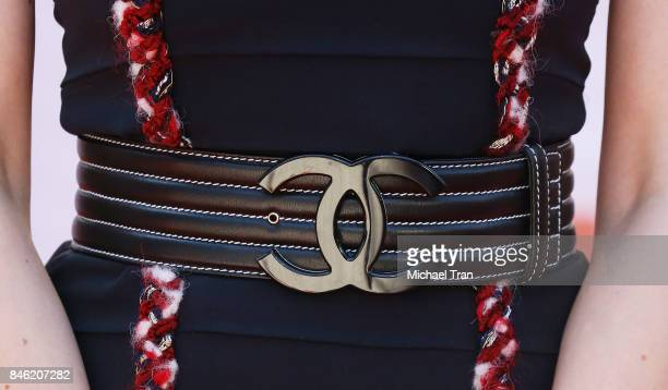 Carey Mulligan belt detail arrives to the Mudbound premiere 2017 TIFF Premieres Photo Calls snd Press Conferences held on September 12 2017 in...