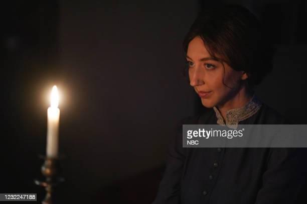 "Carey Mulligan"" Episode 1802 -- Pictured: Heidi Gardner during the ""Movie Trailer"" sketch on Saturday, April 10, 2021 --"