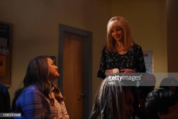"Carey Mulligan"" Episode 1802 -- Pictured: Host Carey Mulligan during the ""IBS Medicine Ad"" sketch on Saturday, April 10, 2021 --"
