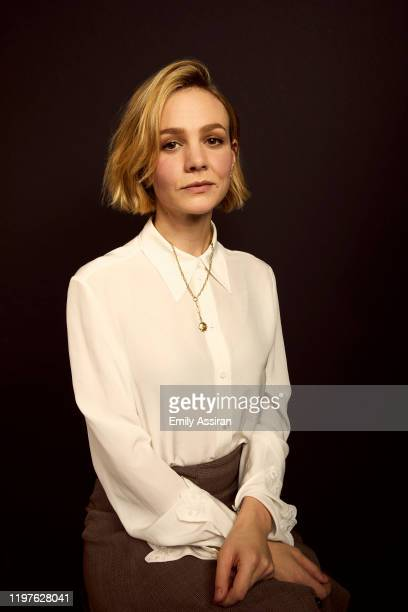 Carey Mulligan from Promising Young Woman poses for a portrait at the Pizza Hut Lounge on January 25 2020 in Park City Utah